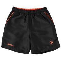 Dunlop Детски Къси Панталони За Тенис Performance Tennis Shorts Junior Black/Orange Детски къси панталони