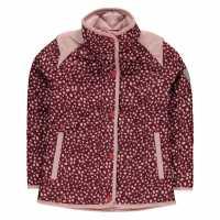 Horseware Яке Момичета Horse Print Jacket Infant Girls Wine Детски якета и палта