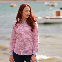 Jack Murphy Claire Shirt Ladies Rosewater Check Дамски ризи и тениски