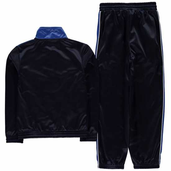 Donnay Poly Tracksuit Junior Boys Nvy/Wht/Royal Детски спортни екипи