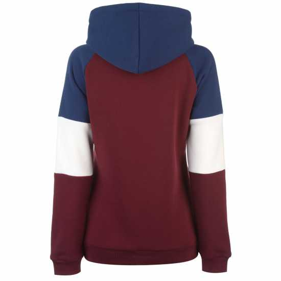 Donnay Дамски Спортен Екип Oth Tracksuit Ladies Burgundy/Navy Детски полар
