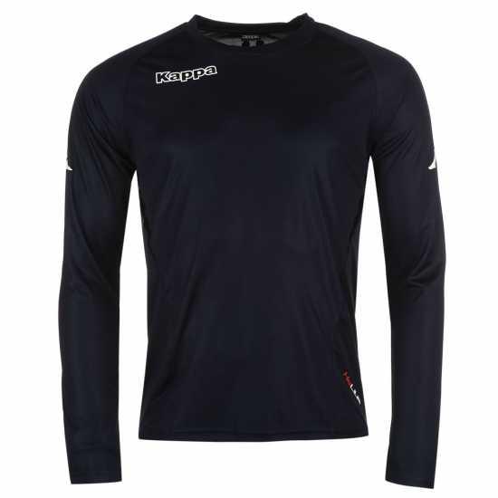 Kappa Мъжка Риза Kombat Football Shirt Mens Navy Мъжки тениски и фланелки