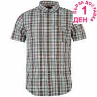 Helly Hansen Мъжка Риза Къс Ръкав Lymington Short Sleeve Shirt Mens