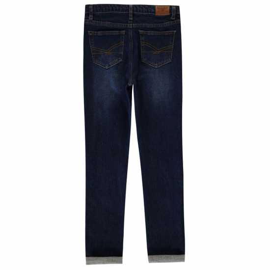 Firetrap Вталени Дънки Skinny Jeans Boys Dark Reg Wash Детски дънки