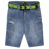 No Fear Момчешки Къси Гащи Belt Shorts Junior Boys  Детски къси панталони