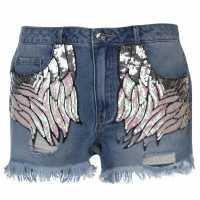 Only Дънкови Къси Панталони Chad Denim Shorts Med Blue Дамски къси панталони