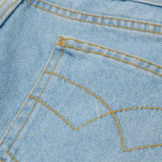Golddigga Дамски Шорти Fishnet Shorts Ladies Light Wash Дамски къси панталони