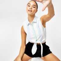 Jdy Victory Off The Shoulder Top Mini Flower AOP Дамски ризи и тениски