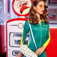 Sportfx Дамска Рокля Fancy Dress Bodycon Dress SUBSANDWHICH Козметика