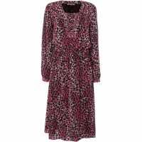 Biba Animal Print Dress Multi-Coloured Дамски поли и рокли