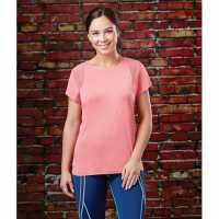 Dublin Pavo Short Sleeve Tech Top Pink Дамски тениски с яка