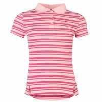 La Gear Дамска Блуза С Яка Yd Polo Shirt Ladies Pink Дамски тениски с яка