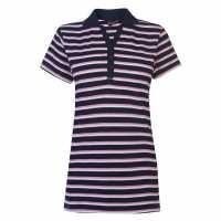 Miso Classic Ladies Polo Pink/Navy Дамски тениски с яка