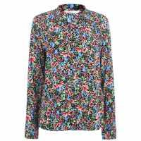 Only Floral Blouse Night Sky Дамски ризи и тениски