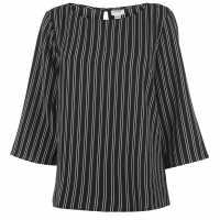 Jdy Hero Top Blk/Wht Stripe Дамски тениски и фланелки