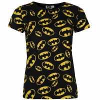 Character Дамска Тениска T Shirt Ladies Batman Дамски тениски и фланелки