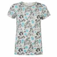 Character Дамска Блуза Къси Ръкави Short Sleeve T Shirt Ladies Disney Princess Дамски тениски и фланелки