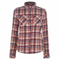 Eastern Mountain Sports Фланелена Риза Flannel Shirt Apricot Brandy Дамски ризи и тениски