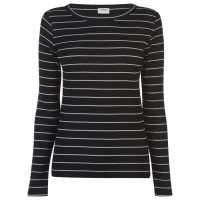 Jdy Тениска Long Sleeved T Shirt Black/Cloud Дамски тениски и фланелки