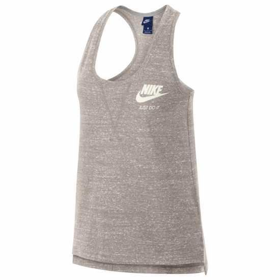 Nike Дамски Потник Vintage Tank Top Ladies Oatmeal Дамски потници