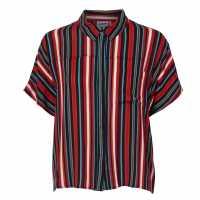 Noisy May Melissa Shirt Mandarin red Дамски ризи и тениски