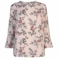 Miso Printed Blouse Ladies Blush Дамски ризи и тениски