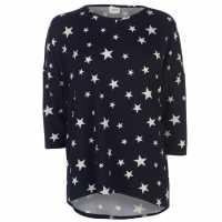 Jdy Тениска Logo Print T Shirt Ngt Sky/Stars Дамски тениски и фланелки