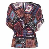 Biba Paisley Kimono Ld94 Multi Дамски ризи и тениски