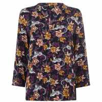Emme Emme Aladino Blouse 003 Navy Дамски ризи и тениски