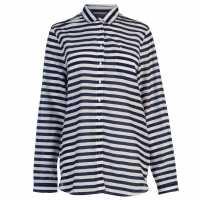 Tommy Hilfiger Риза С Дълъг Ръкав Deccy Long Sleeve Shirt Night Sky Дамски ризи и тениски