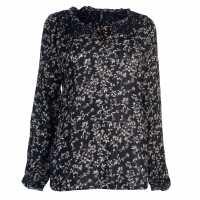 Pepe Jeans Moon Printed Ld64 Navy Floral Дамски ризи и тениски