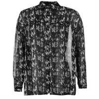Pepe Jeans Daria Blouse Ladies Black Дамски ризи и тениски