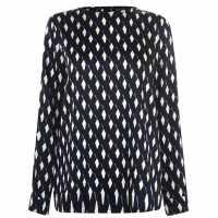 Emme Geometric Blouse  Дамски ризи и тениски