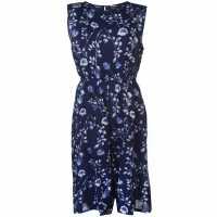 Nvme Helen Jumpsuit Ladies Navy Floral Дамски дълги и къси гащеризони