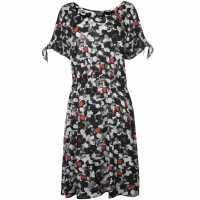 Unknown Дамска Рокля Octavia Dress Ladies Black/White Дамски поли и рокли