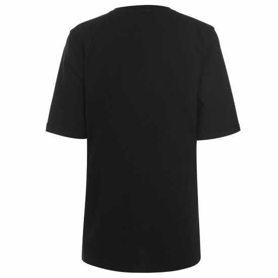 Golddigga Дамска Тениска Roll Sleeve T Shirt Ladies Girl Gang Дамски тениски и фланелки
