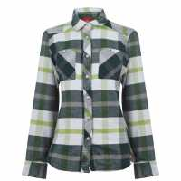 Eastern Mountain Sports Дамска Фланелена Риза Cabin Flannel Shirt Ladies Pine Grove Дамски ризи и тениски