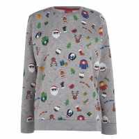 Star Коледен Пуловер Christmas Jumper Xmas Family AOP Коледни пуловери