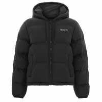 Lee Cooper Дамска Жилетка Fleck Cardigan Ladies Black Дамски пуловери и жилетки