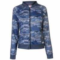 Soulcal Спортно Горнище Camo Track Jacket Blue Дамски якета и палта