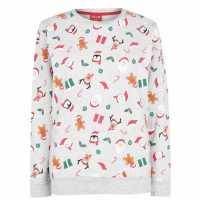 Star Дамска Блуза Обло Деколте Christmas Crew Sweatshirt Ladies  Коледни пуловери
