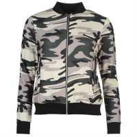 Golddigga Дамско Яке Бомбър Lightweight Bomber Jacket Ladies Camo Дамски якета и палта