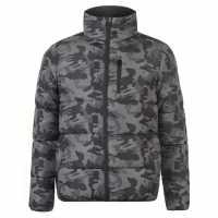 Everlast Дамско Пухено Яке Bubble Jacket Ladies Camoflage Дамски якета и палта