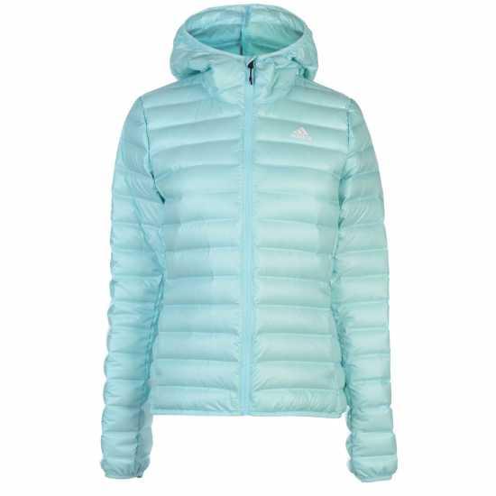 5273fe1380f Adidas Дамско Яке С Пух Varilite Down Jacket Ladies Aqua Дамски якета и  палта