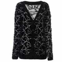 Oneill Дамска Жилетка Winter Cardigan Ladies Black Дамски суичъри и блузи с качулки