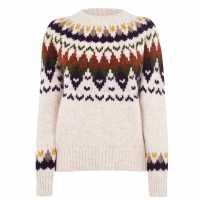 Gant Fairisle Crew Sweatshirt  Коледни пуловери