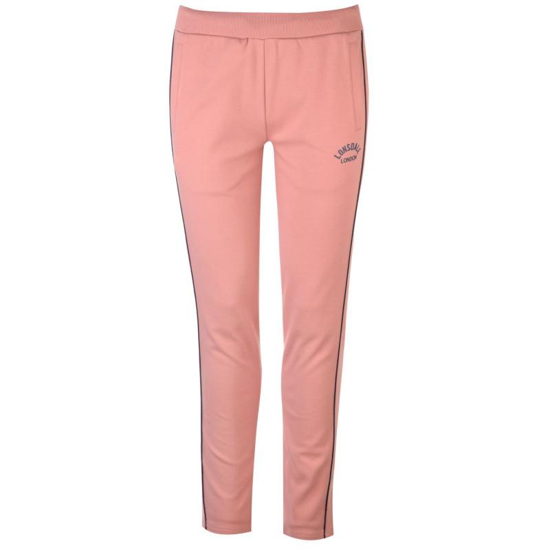 c0f8354f450 Lonsdale Дамско Долнище За Джогинг Interlock Jogging Pants Ladies Blush  Pink Дамски долнища на анцуг