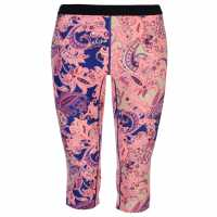 Oneill Surf Capris Ladies Pink Дамски клинове за фитнес