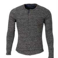 Scotch And Soda Sht Knitted Snr 44 Grey Мъжки пуловери и жилетки