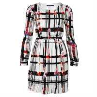 Anonyme Designers Дамска Рокля Dress Lds43 Beige/Black Дамски поли и рокли